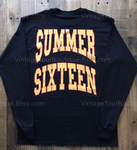 Drake Revenge Summer Sixteen Tour Revenge Long Sleeve Shirt