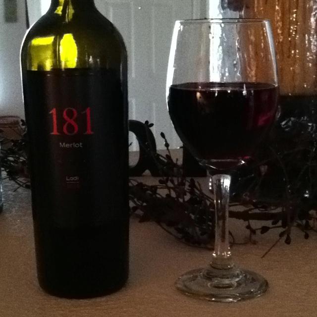 181 #merlot #lodi #ca.  Big fat red Under $10: Fresh Hors