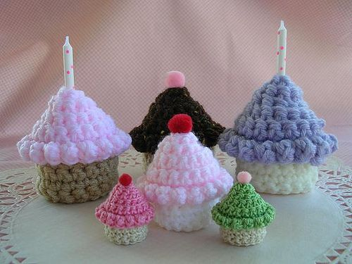 Ravelry: Cupcakes to Crochet! pattern by Doni Speigle