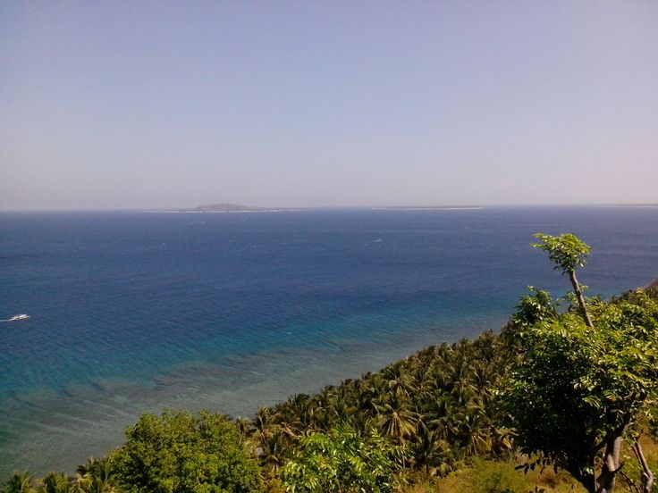 View of Gili Island