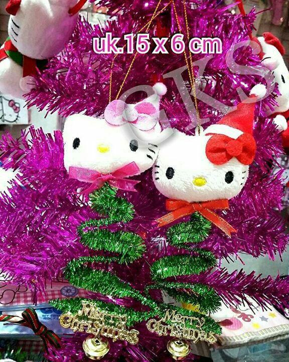 #gantungan #pohon #natal #boneka #hellokitty @ 40.000