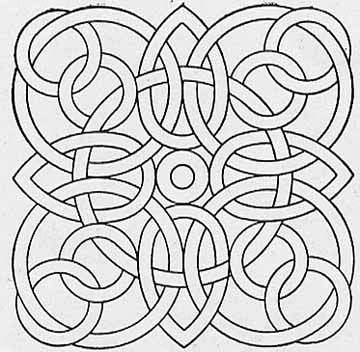 Adult Geometric Coloring Pages Printable Shapes