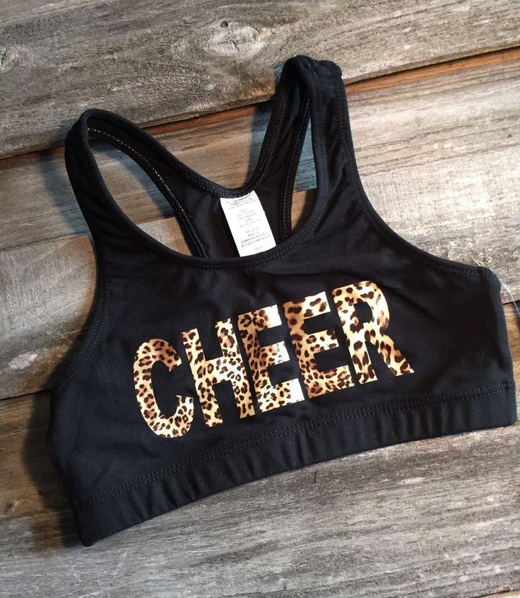 Cheer Sports Bra Cheer sports bras, Sports bra