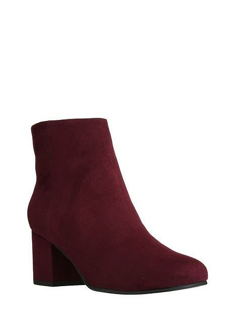 Tesco direct: F&F Sensitive Sole Faux Suede Ankle Boots