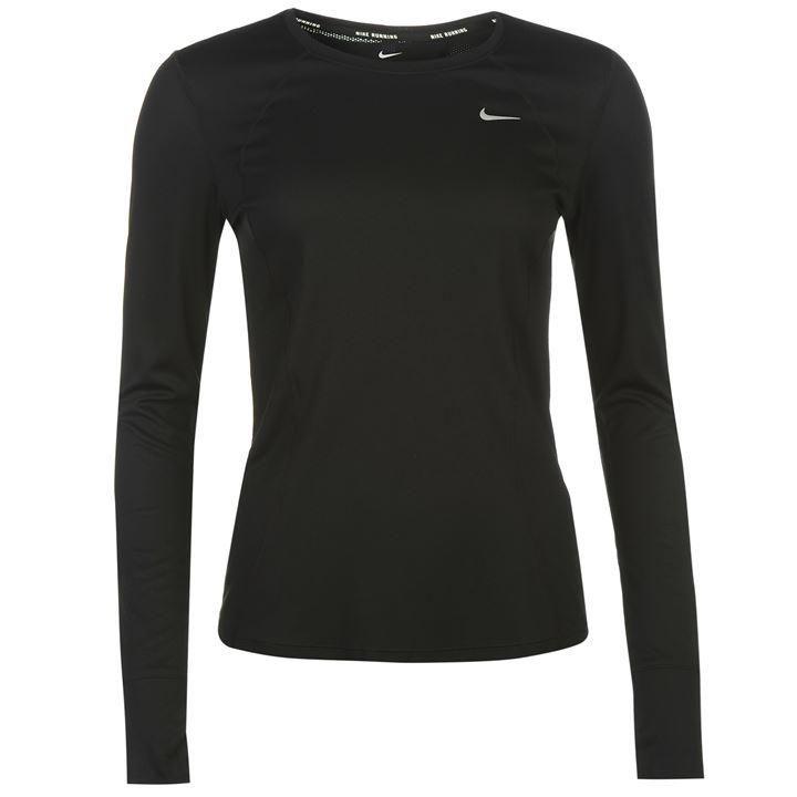 Nike | Nike Racer Long Sleeved Running Top Ladies | Womens Technical Long Sleeved Tops