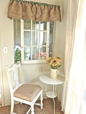 Curtains Ideas burlap sack curtains : 17 Best images about Burlap sack curtains on Pinterest | Sacks ...