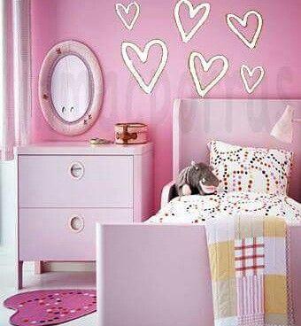 Rincon en rosa todo corazón