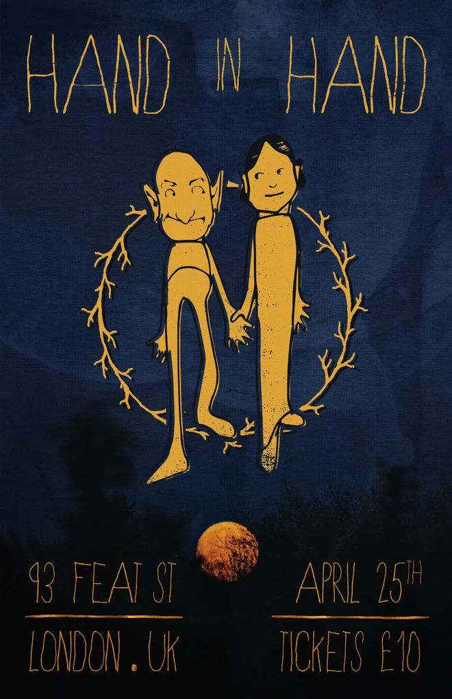 #poster #moon #illustration