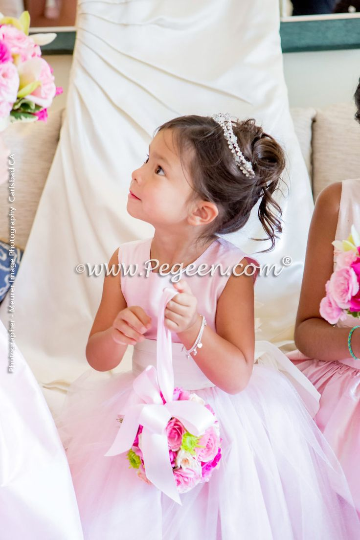 345 best pink flower girl dresses weddings images on pinterest flower girl dresses by pegeen dhlflorist Gallery