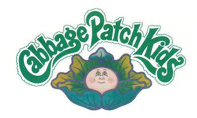 **Baby/Toddler Size** Cabbage Patch Kids Logo Iron On Transfer Dark/Light Fabric