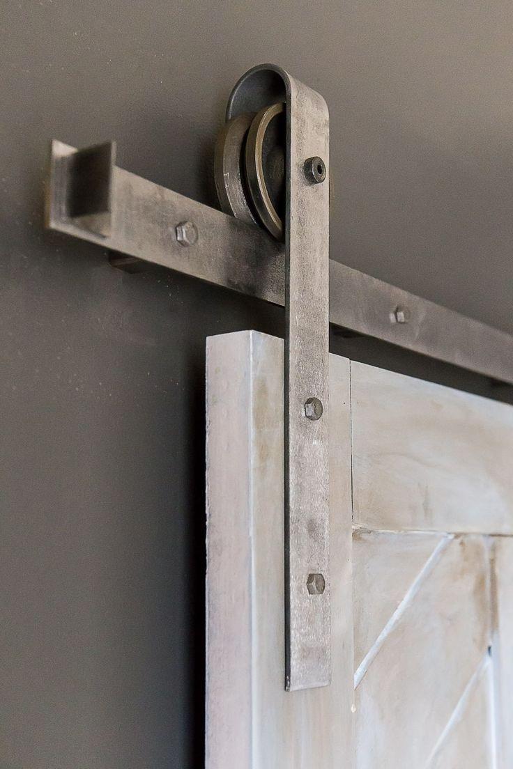Heavy Duty Industrial Sliding Barn Door Closet by eastoaklane, $239.00