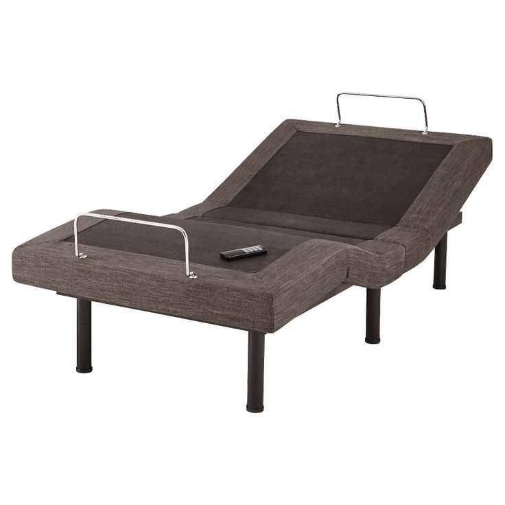 Best Adjustable Power Base Bed Frame Twin Xl Grey Eco 400 x 300