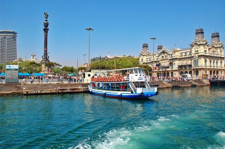 Las Golondrinas, al Port de Barcelona (Catalunya - Catalonia)