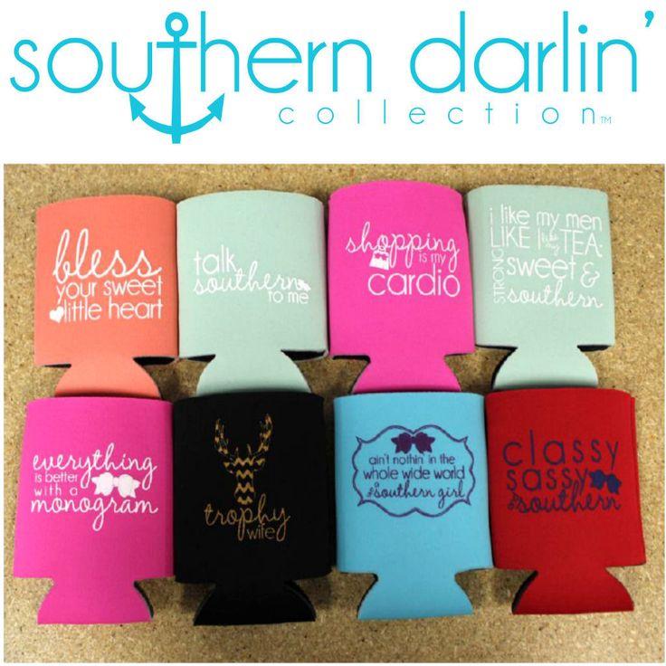 50 best Koozie ideas images on Pinterest | Southern belle ...