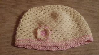 crochet hat for girls on my blog: The Rabbittiger