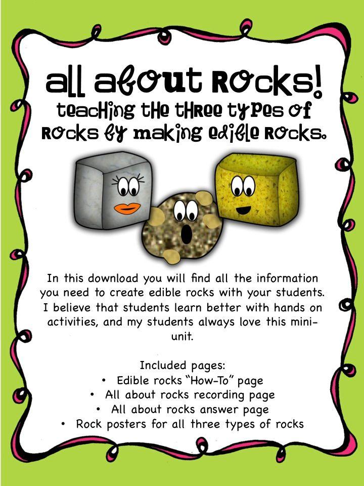 Adventures of Ms. S: Throwing it Back: Edible Rocks... & Giveaway Winner!