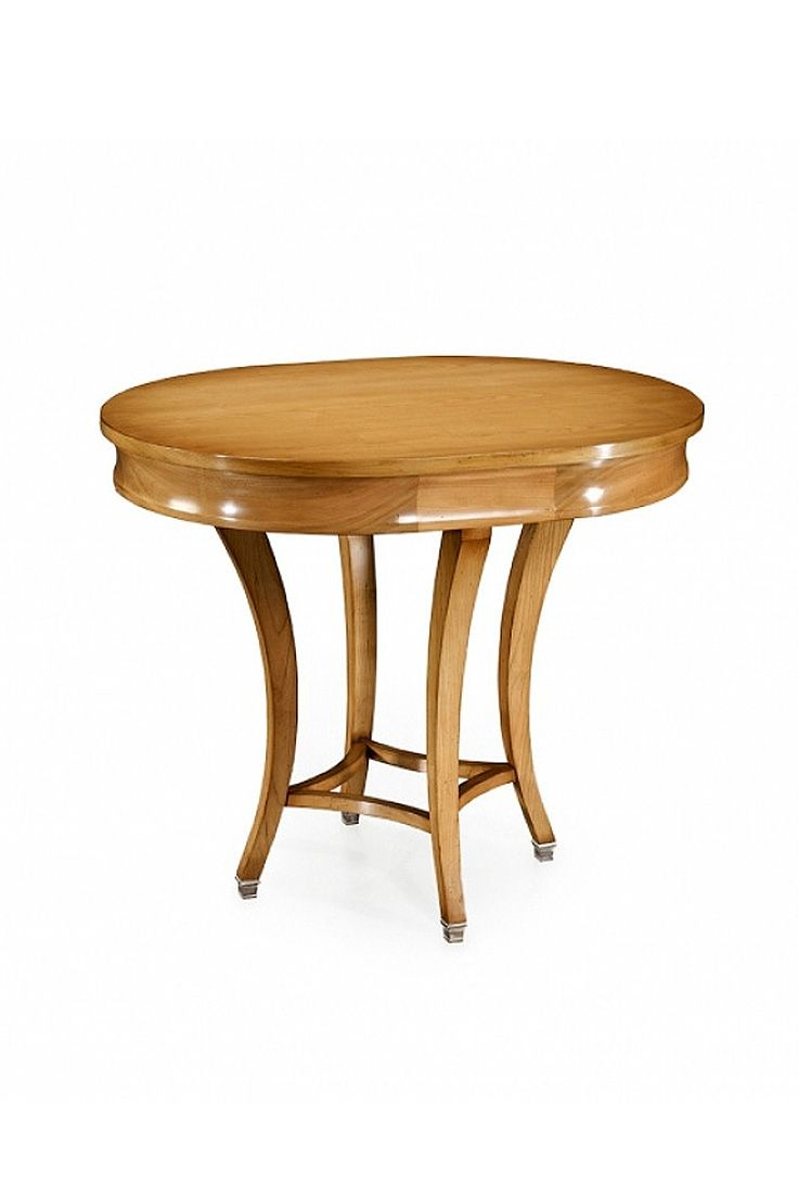 The Montford is a wonderful occasional table, shown in Cherry wood with a Leblon finish. Available in any size.
