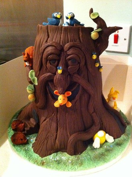 Enchanted Tree Cake...I love it!