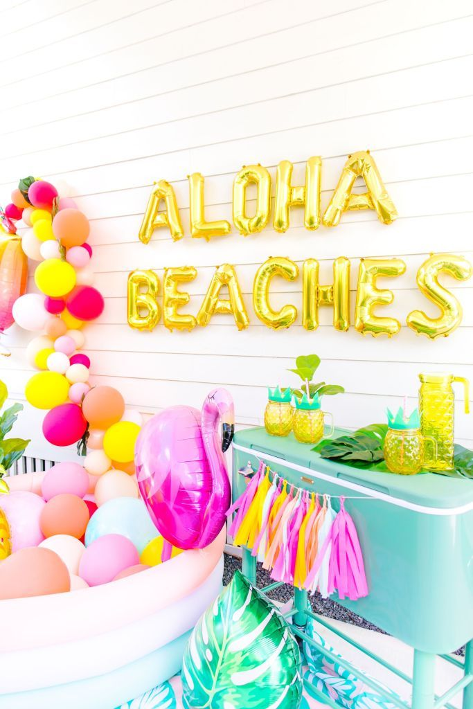Aloha Beaches With Images Bachelorette Party Beach Summer
