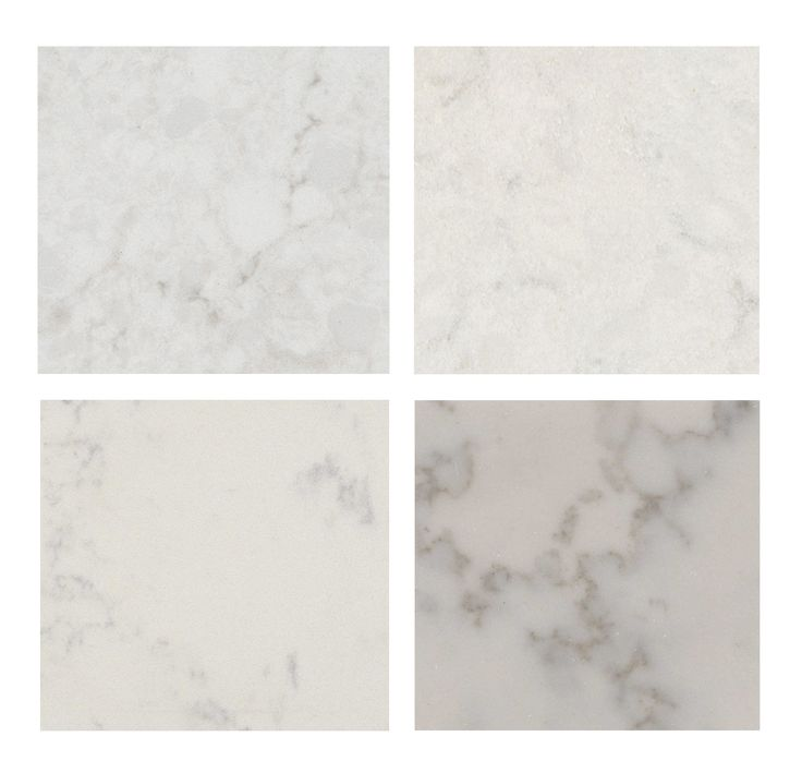 Top Left Caesarstone London Gray Top Right Silestone