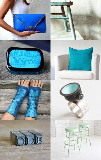 Blue Thoughts by Sharon on Etsy--Pinned with TreasuryPin.com
