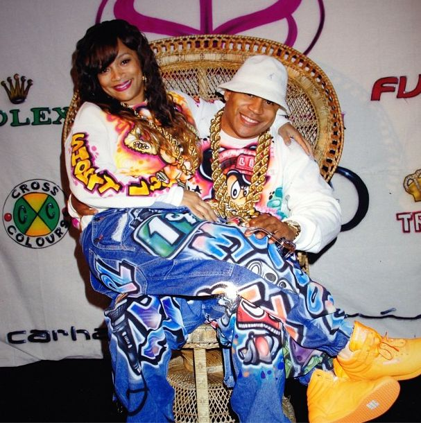 LL Cool J Throws His Wife A 90s Themed Birthday Party