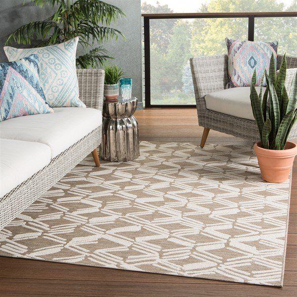 Jaipur Living Grant Design Collaborative Fresno Caelum Rugs Rugs Direct In 2020 Havenside Home Outdoor Trellis Indoor Outdoor Rugs
