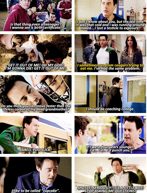 teen wolf...coach is absolutely the best and personally my favorite underrated character of the show