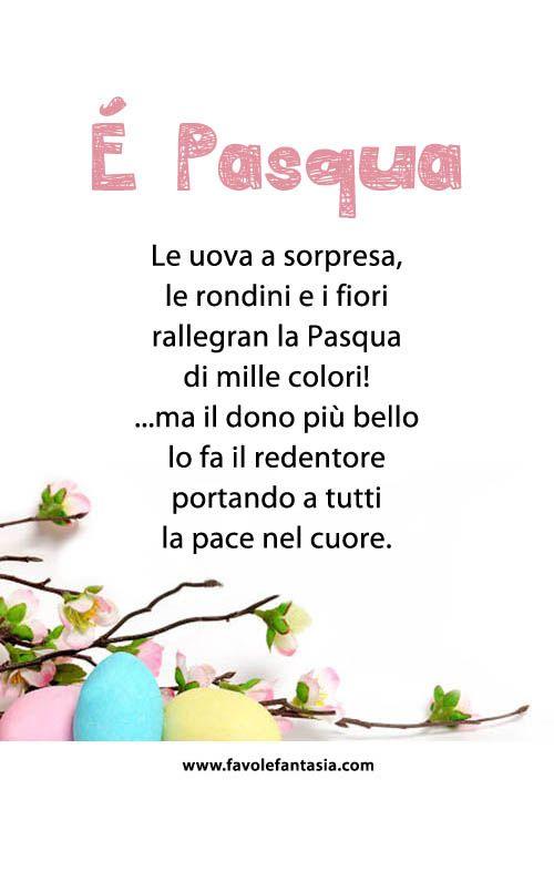 Filastrocca Pasqua