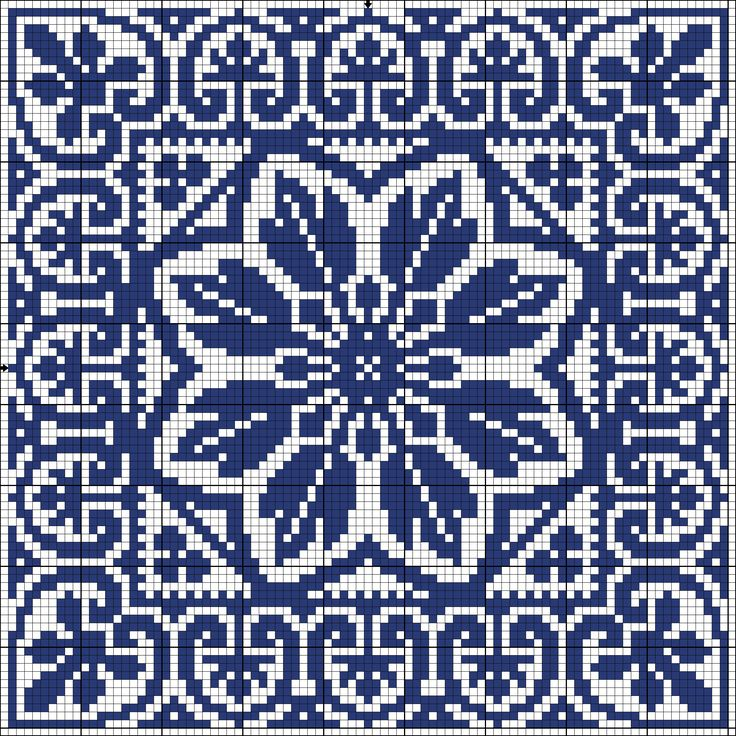 Square 73 | gancedo.eu Use for crochet hawaiian quilt/afghan?