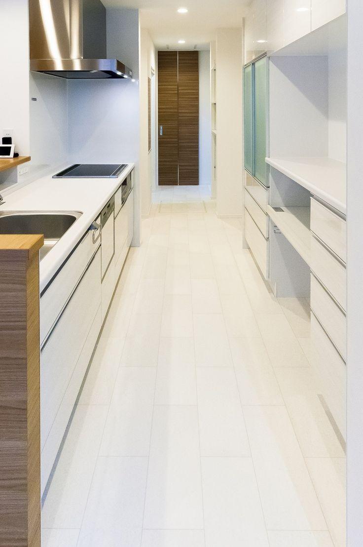 キッチン おしゃれまとめの人気アイデア Pinterest Mita Shah サンゲツ クッションフロア 新築 住宅 一戸建て
