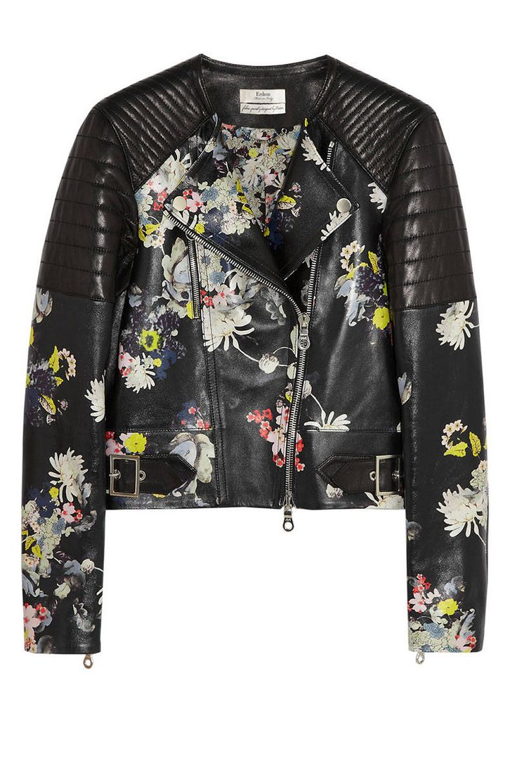 Leather jacket killer b&q - 21 Floral Pieces To Brighten Up Your Winter