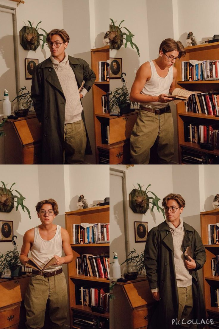 Cole Sprouse dressed as Milo Thatch from Atlantis. His cosplays are always amazing