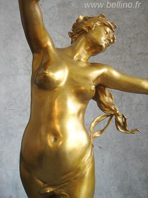 Restauration de deux sculptures de Felix Charpentier http://www.bellino.fr/blog/?p=466