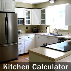 Estimate cost installing new Cabinets (or Refacing), Countertops, Sink, Faucet & other fixtures, as wells as new Appliances, Flooring & Wall Painting