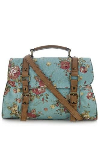 ALDO Willman Floral bag, $45, available this spring at ALDO. #refinery29 http://www.refinery29.com/spring-2011-bag-preview#slide-14