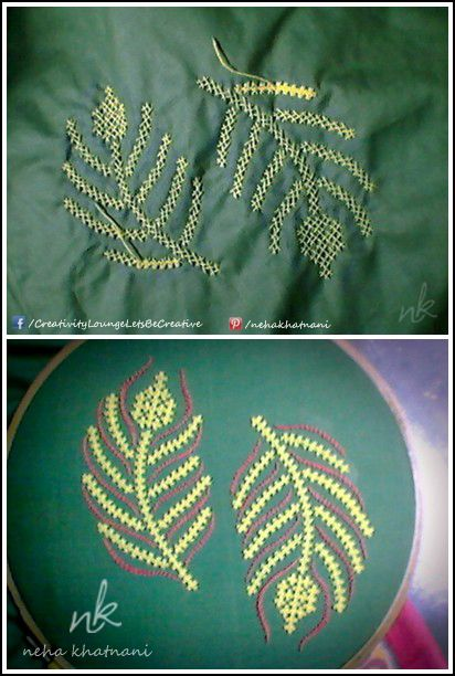 Peacock Feather :) #Kutch #Work #Embroidery