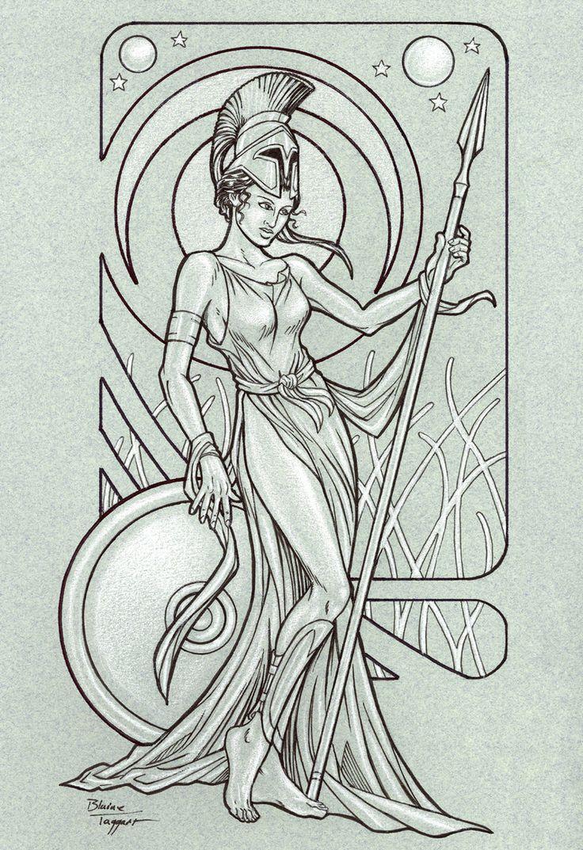 Athena by staino on DeviantArt