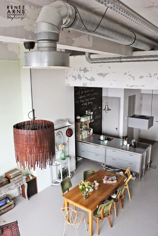 341 best Industrial Home images on Pinterest Homes, Industrial - industrial vintage wohnhaus loft stil