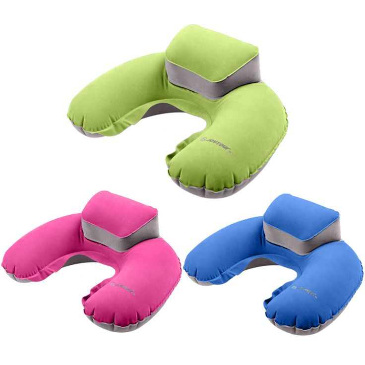 Inflatable Neck Pillow //Price: $9.95 & FREE Shipping //   #traveladdict #tech #electronics #innovation