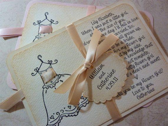 1000 Ideas About Wedding Invitation Keepsake On Pinterest: 1000+ Ideas About Flower Girl Invitation On Pinterest