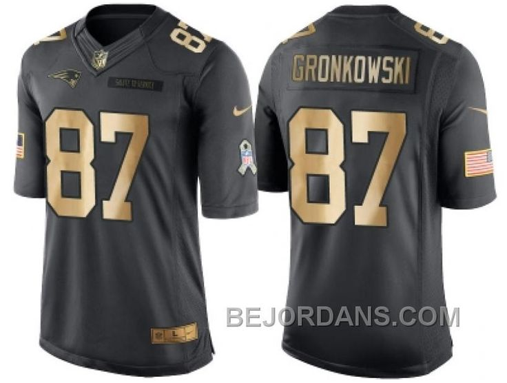 http://www.bejordans.com/free-shipping-60-off-nike-new-england-patriots-87-rob-gronkowski-anthracite-2016-christmas-gold-mens-nfl-limited-salute-to-service-jersey.html FREE SHIPPING ! 60% OFF! NIKE NEW ENGLAND PATRIOTS #87 ROB GRONKOWSKI ANTHRACITE 2016 CHRISTMAS GOLD MEN'S NFL LIMITED SALUTE TO SERVICE JERSEY Only $20.00 , Free Shipping!