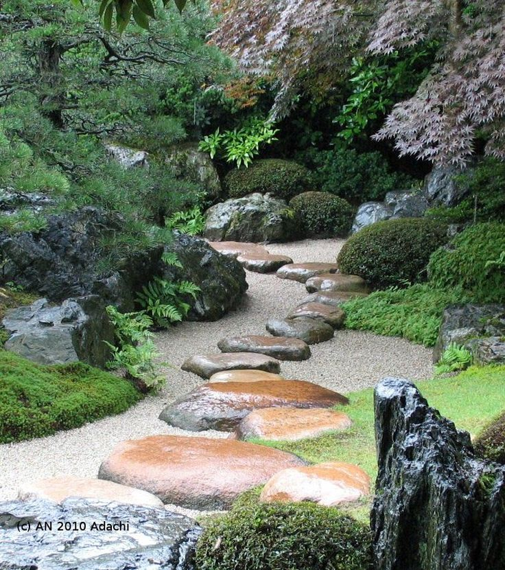 The gorgeous garden of Adachi Museum of Art, Yasugi city, Shimane, Japan