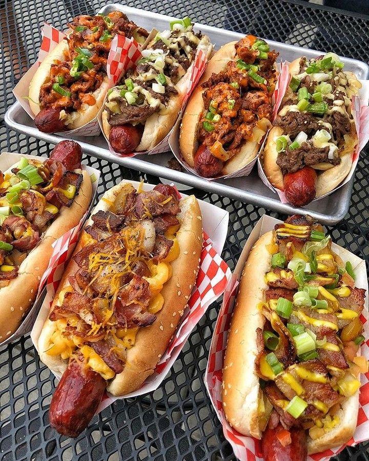 36 Me Gusta 5 Comentarios Ken Lacy Former L E O En Instagram Gourmet Korean Fusion Hot Dogs For Everybody In 2020 Gourmet Hot Dogs Yummy Food Hot Dog Recipes