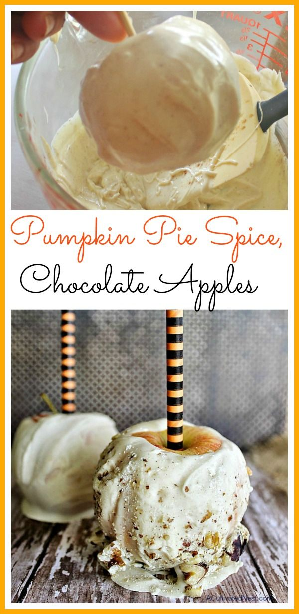 You will love these homemade pumpkin spice white chocolate covered apples! So…