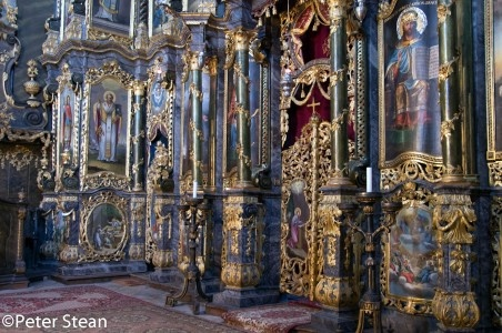 The incredible screen in the Greek Orthodox church found in Miskolc, Hungary