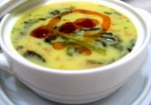 terbiyeli ıspanak çorbası