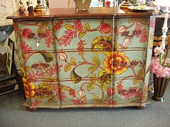 painted chest dresser