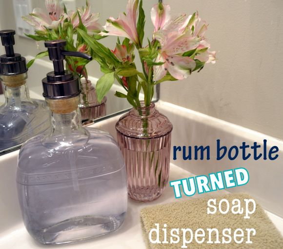 Bourbon Bottle Soap Dispenser - DIY Playbook