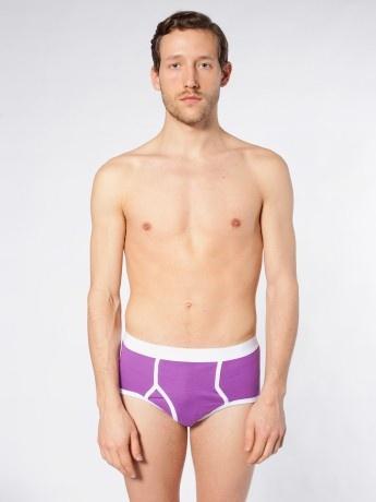Slip kangourou en coton côte bio pour hommes